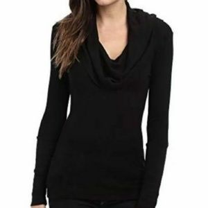 Splendid Thermal Cowl Neck LS Top